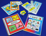 Complete Autism Visual Aids PECS Set - with 100 PECS Schedule Book and MORE