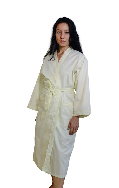 Organic Cotton Sateen Robe