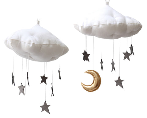 Luxe Graphite Star Cloud - Baby Jives Co