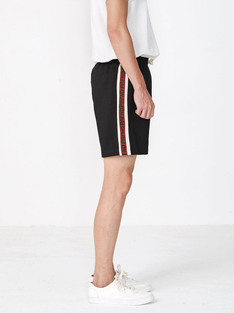 Track Stripe Shorts