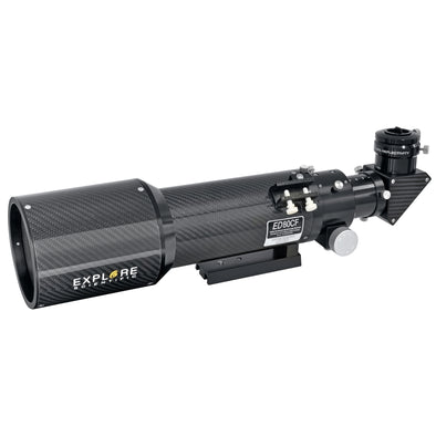 ED80 Air-Spaced Triplet Apochromatic Refractor with Carbon Fiber Tube - EDT-0806-CF-01