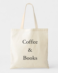 Coffee & Book Lovers Tote Bags - GeorgiaBags