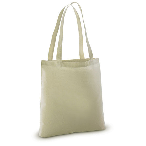 Lightweight 100% Cotton Sheeting Natural Tote Bags - GeorgiaBags