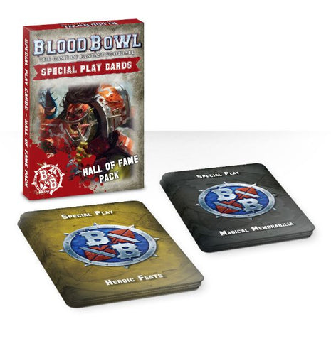 Blood Bowl Special Play Cards: Hall of Fame Pack