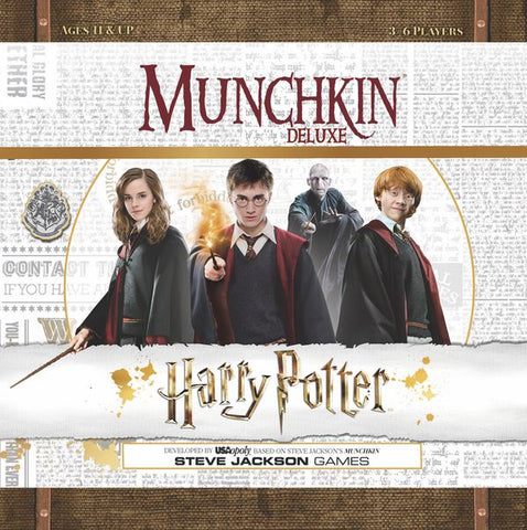 Munchkin Card Game - Harry Potter Deluxe