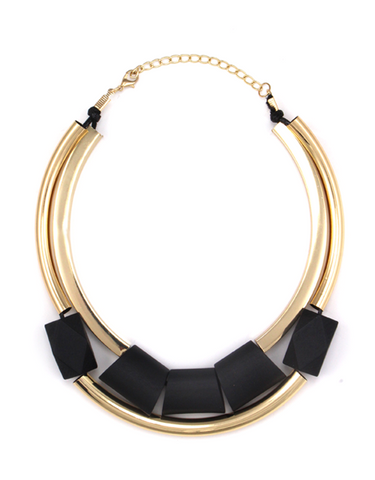 Modern Marble Necklace