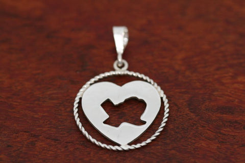 """Deep in the Heart of Texas"" with Rope Trim in Sterling-Medium"