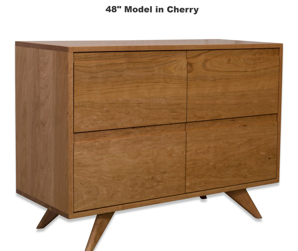 Mid Century Modern Dresser - Solid Wood Modern Bedroom Collection