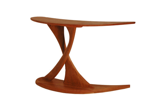 Cantilever Console Table made of Cherry Wood