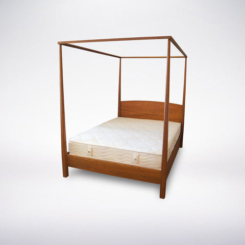 Shaker Pencil Post Bed- Solid Wood
