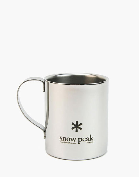 Snow Peak - Stainless Double 330 Mug - 1