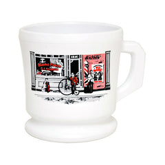 William Marvy Opal Shaving Mug - White Colour-William Marvy-ItalianBarber