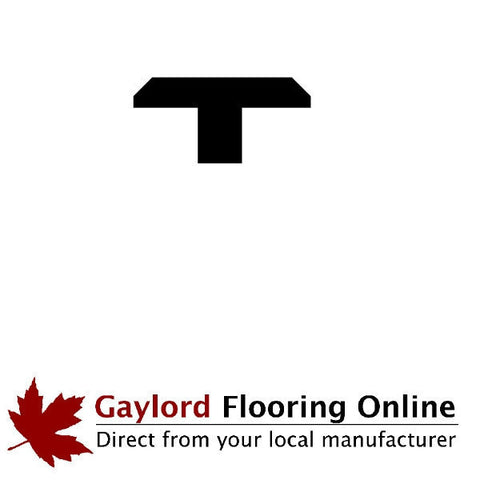 "1 3/8"" Cherry T-Mold (48"" Lengths)"