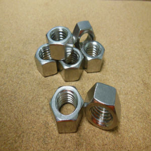 1 1/4-7 Stainless Steel Hex Nut