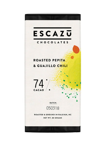 Escazú Chocolate Roasted Pepita & Guajillo Chili