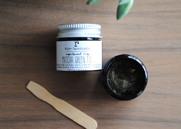 Matcha Green Tea Sugar Lip Scrub