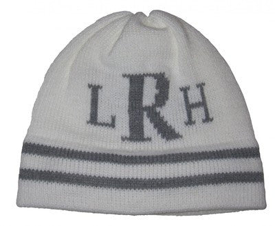 Personalized knit hats