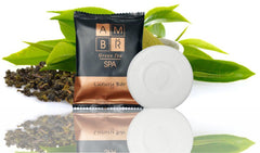 Hotel Soap AMBR Spa Flow Luxury Bar 30g (100 per case) .29 each or less! - Canadian Hotel Supplies
