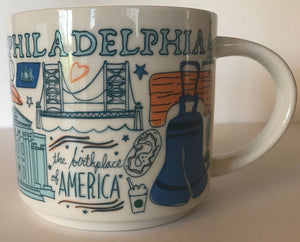 Starbucks Been There Series Collection Philadelphia Coffee Mug New With Box