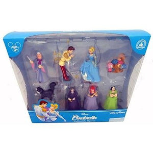 disney parks princess cinderella figure cake topper playset new with box