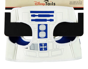 Disney Tails Dog Harness Star Wars R2D2 Size Small New with Card