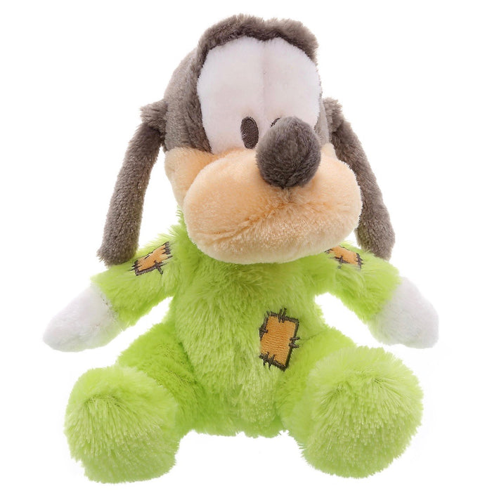 "disney parks baby goofy 9"" long pile with rattle inside plush new with tags"