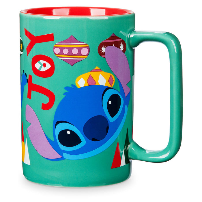 Disney Chear Stitch Holiday Mug New