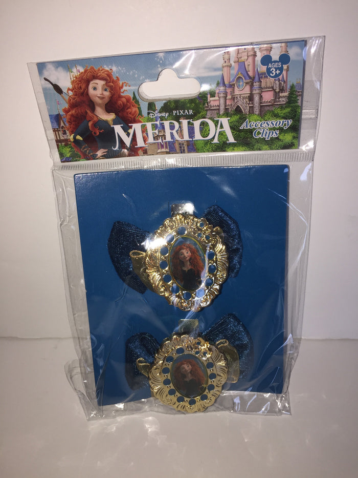 Disney Parks Pixar Brave Merida Accessory Clips Set of 2 New Sealed