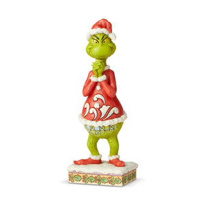 Jim Shore Grinch With Clasped Hands Figurine New with Box