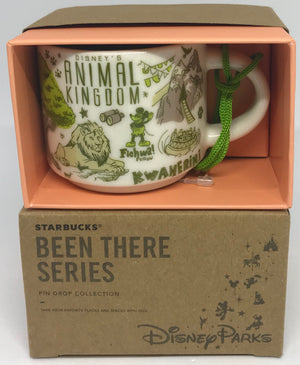 Disney Parks Starbucks Been There Animal Kingdom Coffee Mug Ornament New