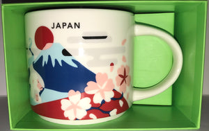 Starbucks You Are Here Collection Japan Ceramic Coffee Mug New With Box