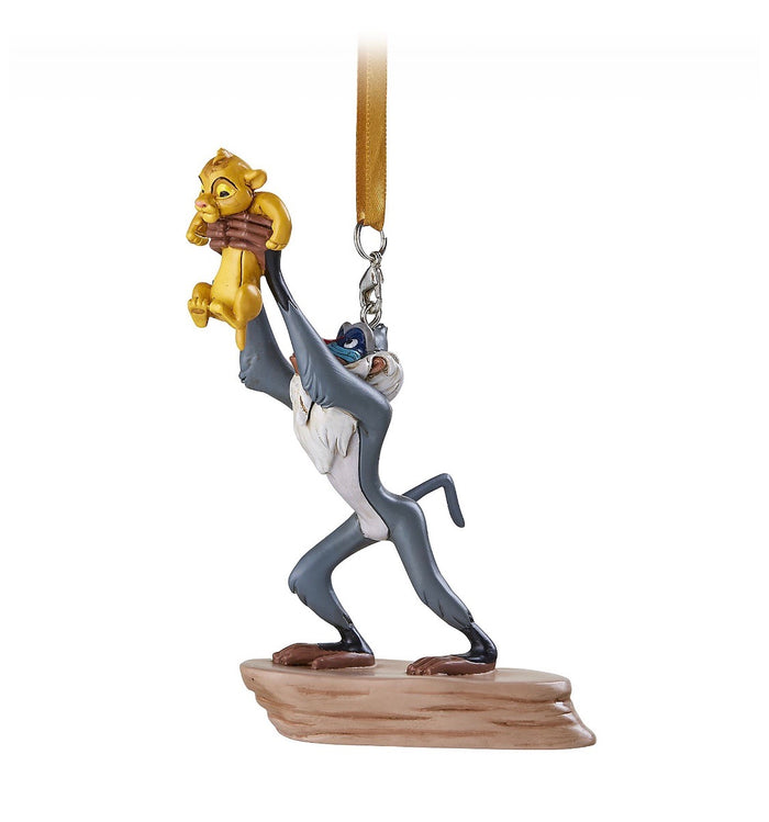 Disney Parks Rafiki and Simba Christmas Ornament New with Tags