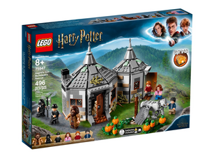 Lego Harry Potter Hagrid's Hut Buckbeak's Rescue Wizarding World 75957 New