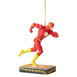 DC Comics Jim Shore The Flash Silver Age Christmas Ornament New with Box