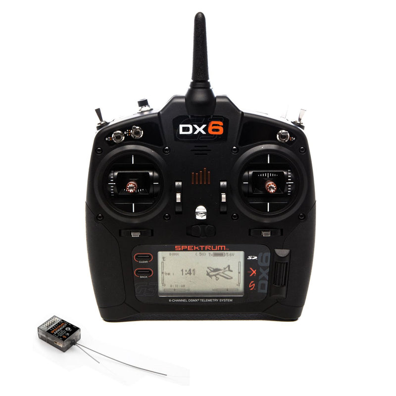 DX6 6-Channel DSMX Transmitter Gen 3 with AR6600T Receiver