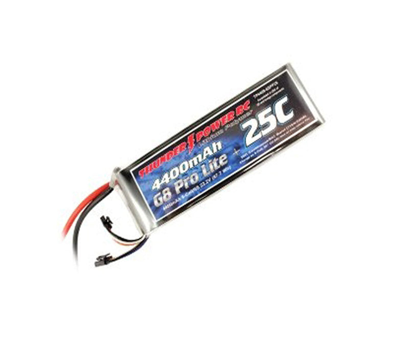 Thunder Power 4400mAh  22.2V  25C LiPo 6s