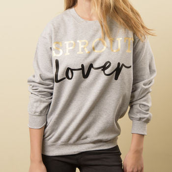 'Sprout Lover' Christmas Jumper