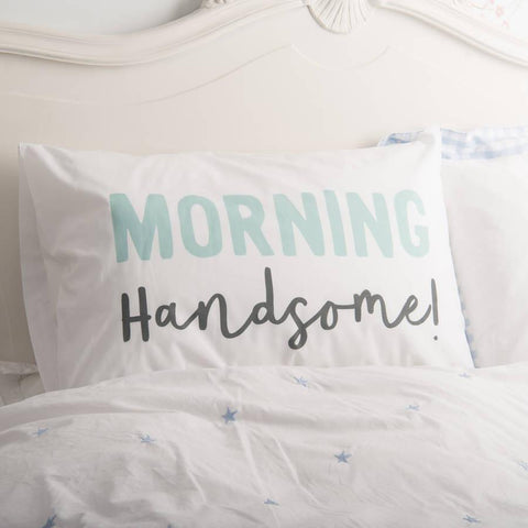 Couple's Matching Morning Pillowcases
