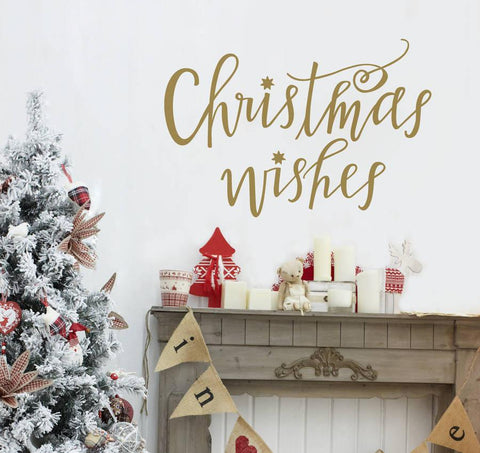 Christmas Wishes Wall Sticker