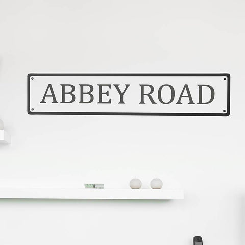 Personalised Road Name Wall Sticker - Oakdene Designs - 1