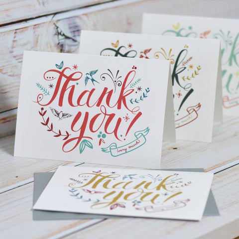Thank You Cards - Oakdene Designs - 1