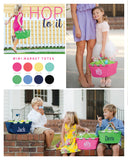 Small Market Totes for Easter Egg Hunting - Market Totes - BeauJax Boutique