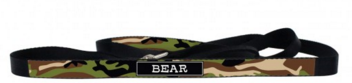 Camo Personalized Dog Lead Available in 6 Camo Colors - Leads - BeauJax Boutique
