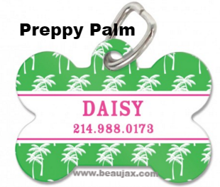 Adorable Personalized Bone Pet Tag in 27 Designs! - Pet Tags - BeauJax Boutique