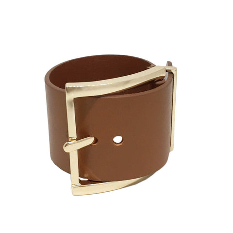 Buckle Leather Bracelet