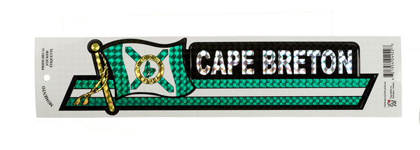 Cape Breton Prismatic Bumper Sticker
