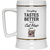 Everything Tastes Better With Cat Hair Beer Stein 22oz.