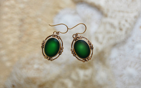 esmeralda O earrings