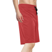 Red Men's Swim Trunks |  | swimwear | JacksonsRunaway