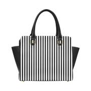 Heart N Stripes Classic Shoulder Handbag